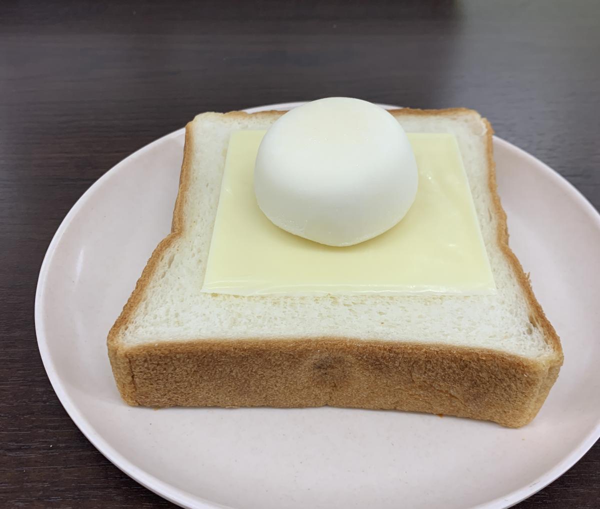 雪見 だ いふく トースト