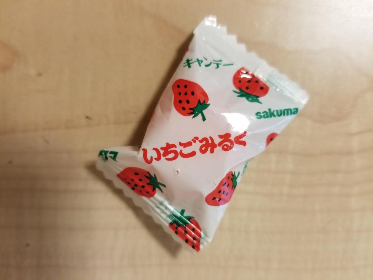 飴 いちご ミルク